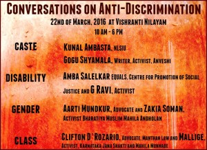 Anti Discrimination Poster